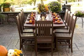 Amish Outdoor Patio Furniture 3760 Table 10 Chairs Polywood Outdoor Patio Furniture Set Table