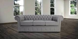 Fabric Chesterfield Sofa Bed Grey Chesterfield Sofa Chesterfield 3 Settee Steel Grey Fabric