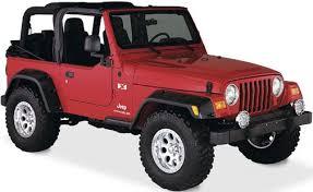 2011 jeep wrangler fender flares bushwacker 10908 07 6 pocket style fender flares for 97 06 jeep