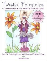 twisted fairytales coloring book is here u2013 crystal packard