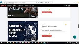 my fan club rewards far cry 5 all ubisoft club rewards and challenges youtube