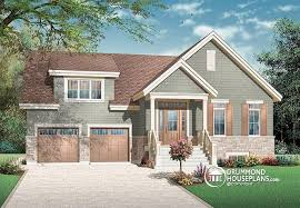 Transitional Style House House Plan W3611 Detail From Drummondhouseplans Com