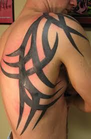 tribal back shoulder for