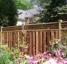 decorative privacy fence ideas u2013 decoration image idea