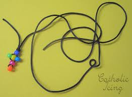 how to make rosary how to make a rosary with kids