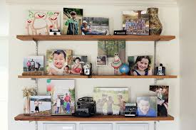 photo display my living room shelves ashleyannphotography com