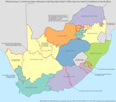 Map Of Eastern Africa by South African Provinces As They Might Have Been U2013 Adrian Frith