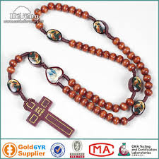 medjugorje rosary medjugorje cord wood rosary with epoxy images rosary