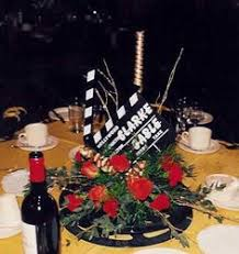 hollywood theme centerpieces services entertainment for the