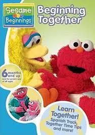 beginning together sesame beginnings on dvd