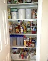 removing pantry clutter for more kitchen food storage