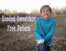 free sewing patterns for boys and girls boys hooded sweatshirt