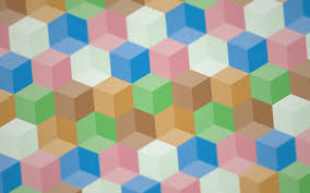 Optical Illusion Wallpaper by Digital Art Colorful 3d Cube Depth Of Field Optical Illusion