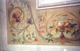 soffitti dipinti decorazione d interni restauro dipinti ed esecuzione ex novo fregi
