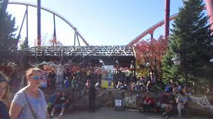 Fright Fest Six Flags Great America Raging Bull Full Queue Fright Fest Six Flags Great America 10 21