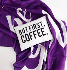 Purple Sofa Pillows by Throw Pillow But First Coffee Roomify