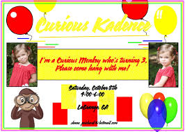 a little loveliness curious george birthday party