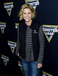 monster truck show in anaheim ca julie bowen at monster jam celebrity night in anaheim 01 16 2016