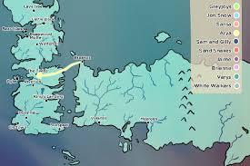 us map of thrones of thrones journeys made in season 6 bram us
