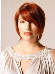 hairstyles for fine hair a line disconnected a line wispy red style hairstyle for fine hair how