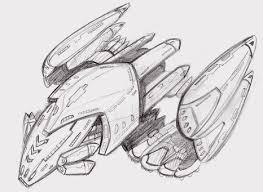 star trek ship sketch by ninjha on deviantart