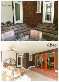 before u0026 after outdoor living room guthmann construction