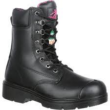 womens steel toe work boots near me moxie trades s steel toe csa pr waterproof boot