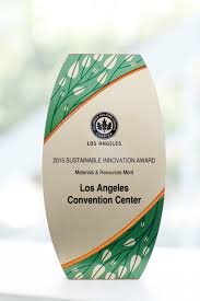 Los Angeles Convention Center Map by Green Initiatives Los Angeles Convention Center