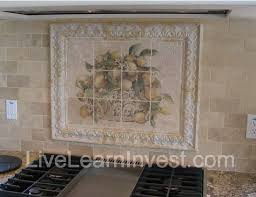 Granite Countertops And Kitchen Tile Backsplashes  Live Learn - Kitchen medallion backsplash
