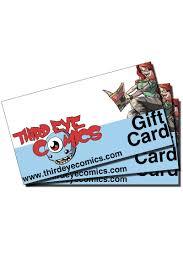 gift card third eye comics gift card third eye comics