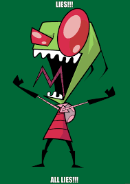 Invader Zim Memes - invader zim disagrees quickmeme