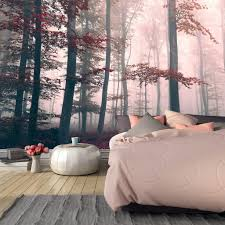 55max custom wallpaper giant wall murals art consultant 55max red enchanted forest mural
