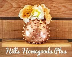 Copper Flower Vase Copper Flower Vase Etsy