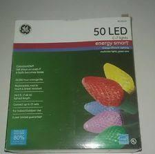 energy star led c9 lights ge 50 count led c9 multicolor christmas string lights energy star