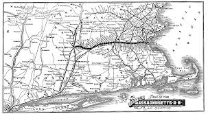 Boston Rail Map by 1888 Central Massachusetts Railroad Map Antique Maps Pinterest