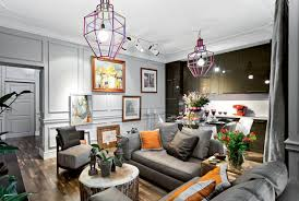 Modern Interior Design In Eclectic Style With Parisian Chic - Modern chic interior design
