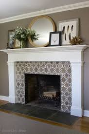 Paint Tile Fireplace by How To Paint Tile Easy Fireplace Paint Makeover Paint