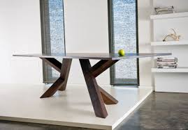 contemporary wooden dining table afandar