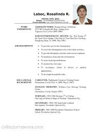 caregiver resume objectives gse bookbinder co