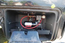 nissan armada air suspension relay airbag onboard air installation nissan titan forum