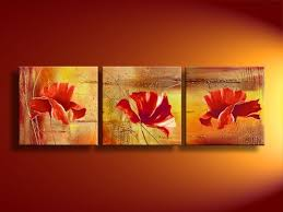 handmade floral painting on canvas from china manufacturer