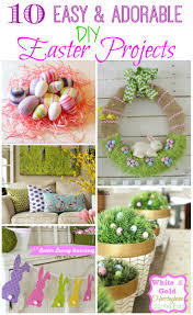 10 easy u0026 adorable diy easter projects the happy housie
