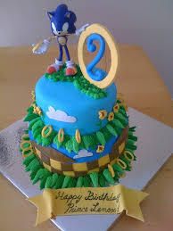 sonic cake topper brilliant design sonic the hedgehog birthday cake fanciful best 25