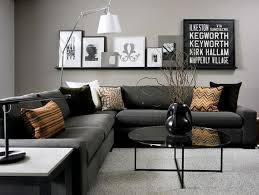 luxury black living room furniture design for your home decorating
