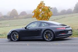first porsche car porsche 911 r spotted for the first time
