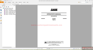 28 case 440ct operators manual case crawler excavator