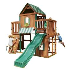exterior traditional wooden swing sets clearance ideas for your
