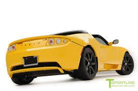 ferrari yellow brilliant yellow tesla roadster custom ferrari black interior
