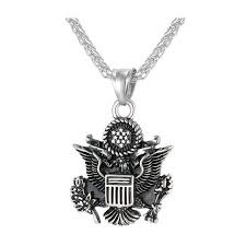 great necklace buy great seal of the united states statement necklace bling chain
