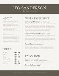 Creative Resume Headers 55 Free Resume Templates For Ms Word Freesumes Com
